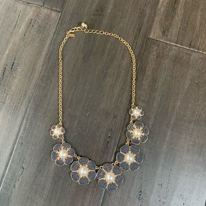 Kate spade flowers necklace